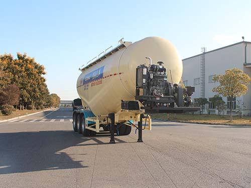 星马牌44吨中密度粉粒物料运输半挂车(AH9401GFL3)产品结构和技术发展趋势分析天龙四桥粉粒物料运输车