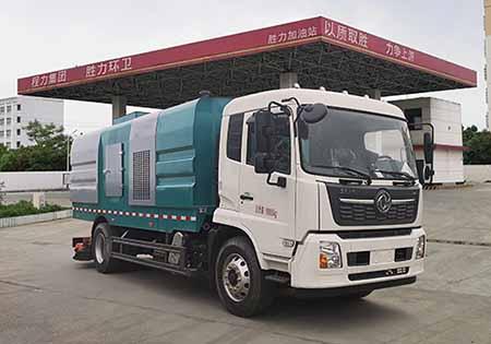 東風天錦16噸吸塵車