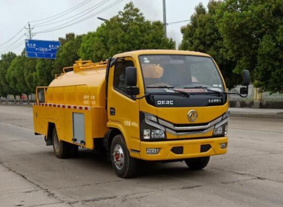 江苏常州市5吨吸污车厂家价格多少钱大中型吸污清洗两用车
