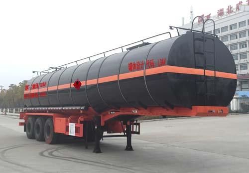 沥青运输半挂车的技术保养与润滑沥青长距离运输车
