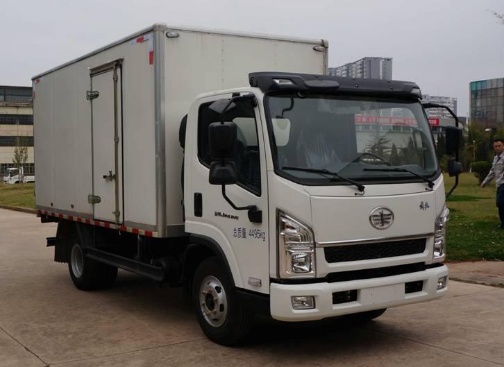 售货车基本构成特点你知多少?福田迦途售货车图片