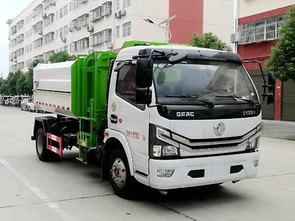 CLW5090ZZZ6自装卸式垃圾车