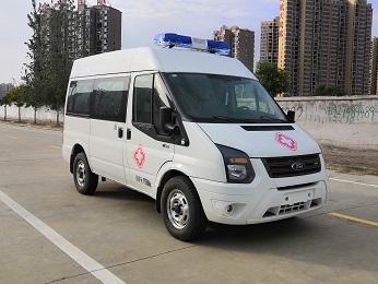 江铃福特V362短轴中顶柴油版负压救护车