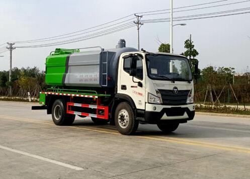 CLW5121GQW6CF清洗吸污车