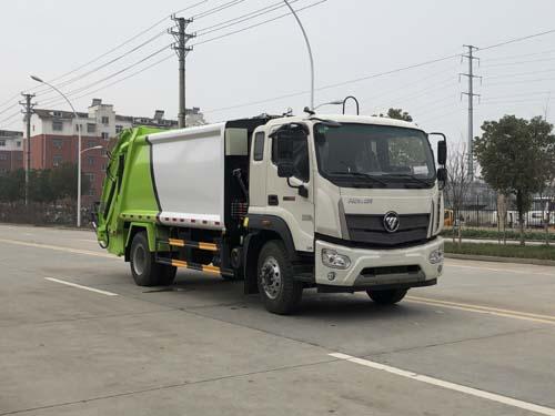 福田瑞沃12方压缩式垃圾车