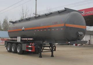 CLW9409GFW腐蝕性物品罐式運輸半掛車