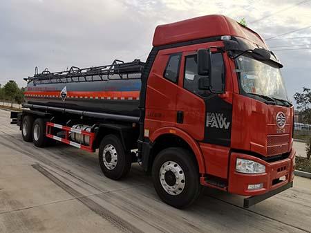 CLW5320GFWC5腐蝕性物品罐式運輸車