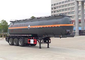 CLW9400GFWAJ腐蝕性物品罐式運輸半掛車