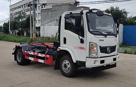 车厢可卸式垃圾车的功能简介及主要用途石家庄垃圾车图片