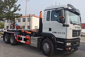 车厢可卸式垃圾车的定义及分类d9挂桶垃圾车