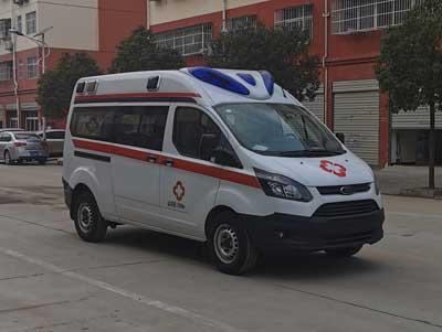 江铃福特V362中轴中顶自动挡汽油版负压救护车