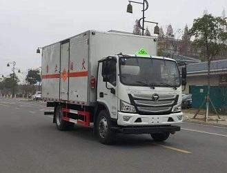 程力威牌爆破器材运输车的装置特点爆破器材运输车安全技术图片