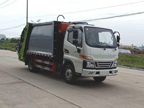HLQ5070ZYSH6压缩式垃圾车