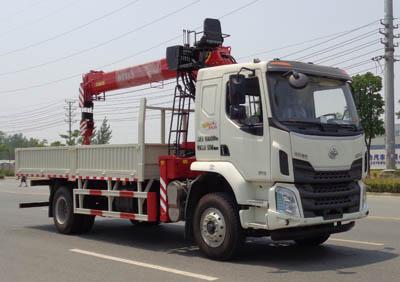 柳汽8吨随车起重运输车