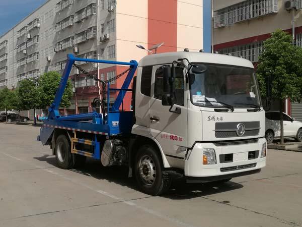 CLW5180ZBSD6摆臂式垃圾车