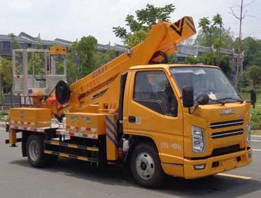 江铃直臂22米高空作业车