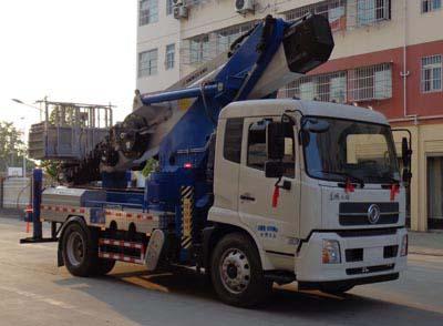 天锦24米高空作业车