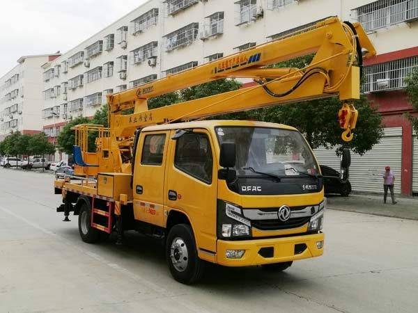 东风多利卡16米高空作业车