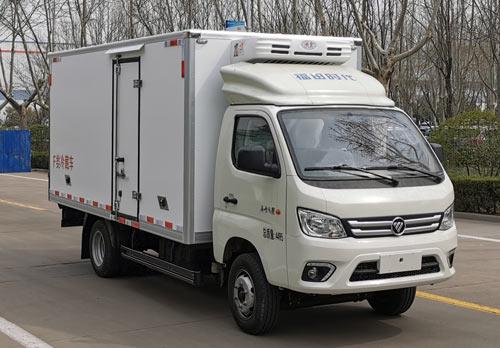 品质最优的福田牌冷藏车(BJ5040XLC-AA)青岛冷藏车物流群图片