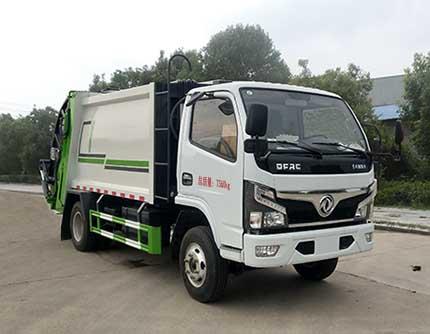 同锐通牌压缩式垃圾车(CAA5070ZYSE6)的八大优势上海东风钩臂垃圾车图片