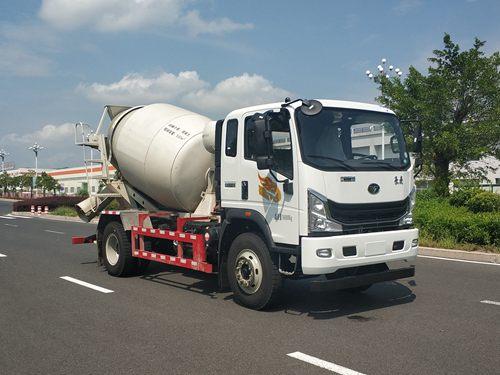 混凝土搅拌运输车图片