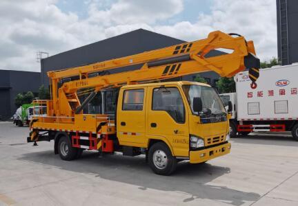 庆铃五十铃18.5米高空作业车