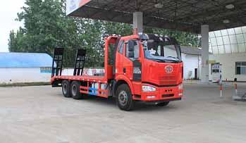 程力威牌平板运输车专用组成及备品配件:山东平板运输车图片