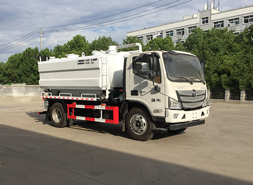SGZ5120GQWBJ6清洗吸污車