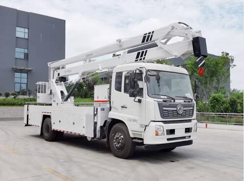 东风天锦20-24米高空作业车