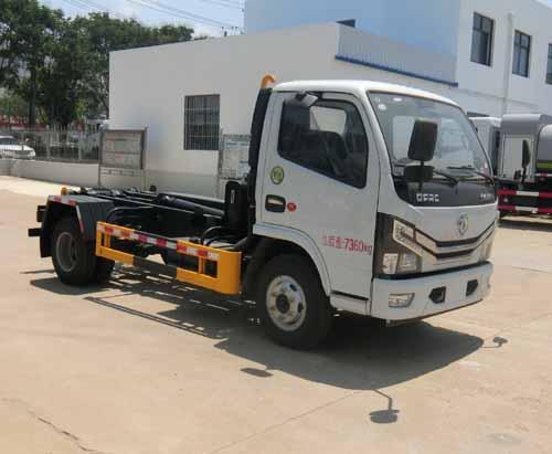 华星牌车厢可卸式垃圾车(CCG5070ZXXE6)使用方法和步骤宇通纯电动垃圾车图片