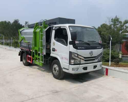 自装卸式垃圾车工作原理可卸式垃圾车