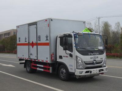 JDF5040XRQB6易燃气体厢式运输车