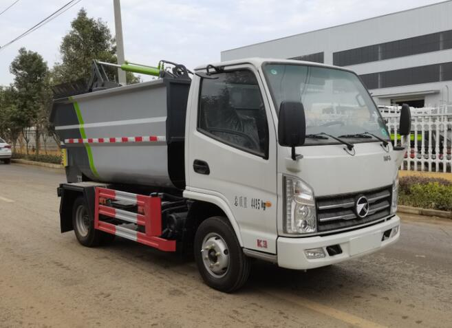 HLQ5040ZZZK6自装卸式垃圾车