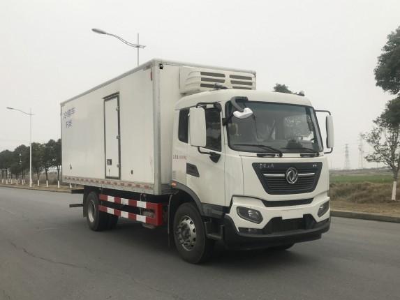 国六黄牌东风天锦KR6.68米最新冷链车