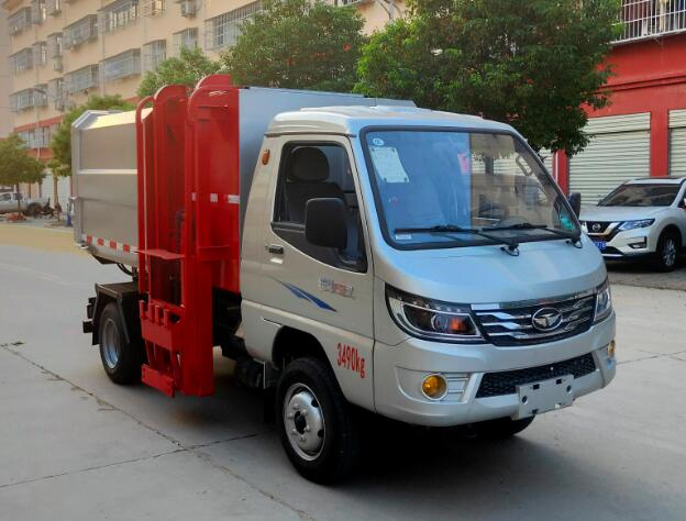 CLW5037ZZZZB6自装卸式垃圾车