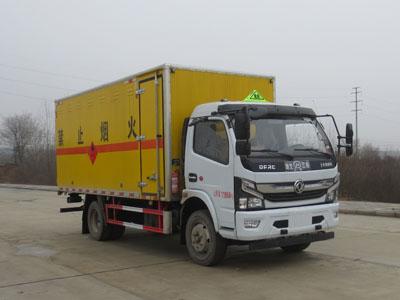 JDF5120XRQE6易燃气体厢式运输车
