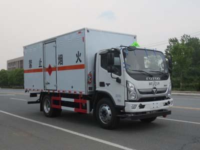 JDF5120XRQB6易燃气体厢式运输车