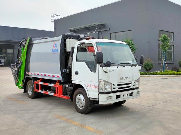 CLW5070ZYSQ6压缩式垃圾车