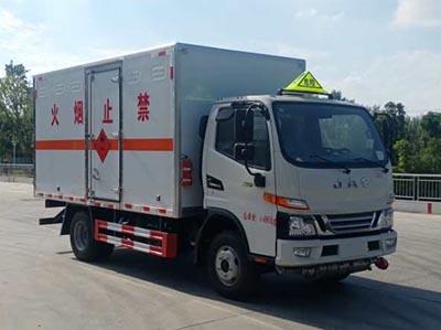 江淮易燃液體廂式運輸車