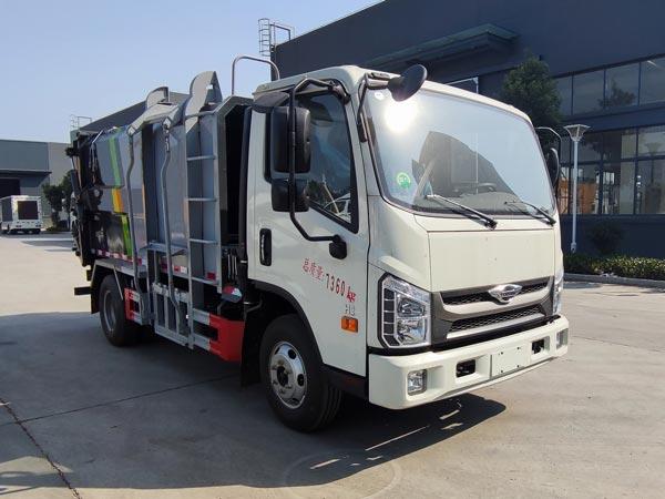 CLW5070ZZZBDP自装卸式垃圾车
