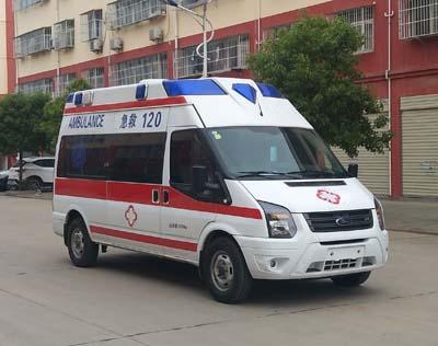 江铃全顺柴油版救护车