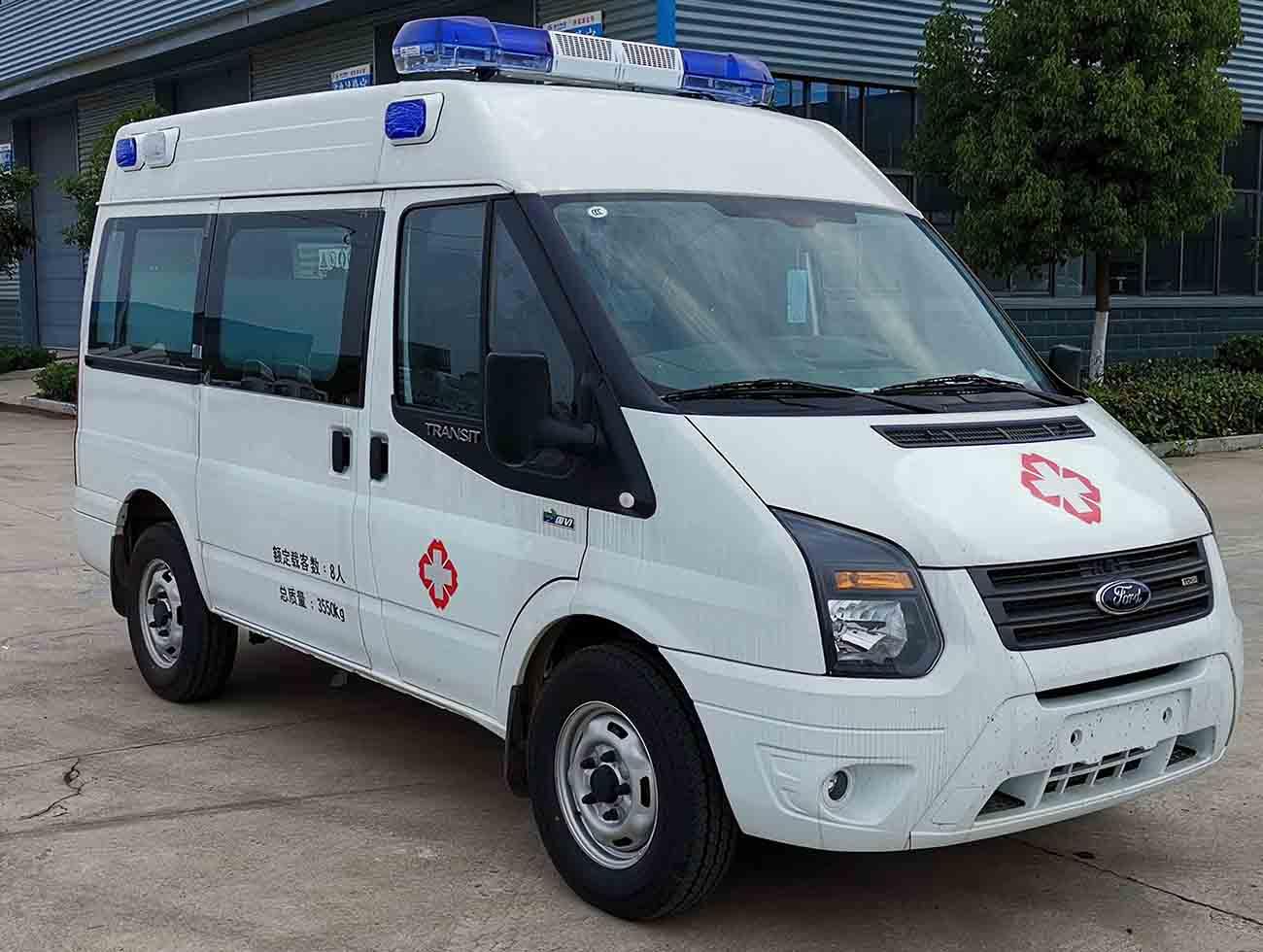 V348柴油版救护车