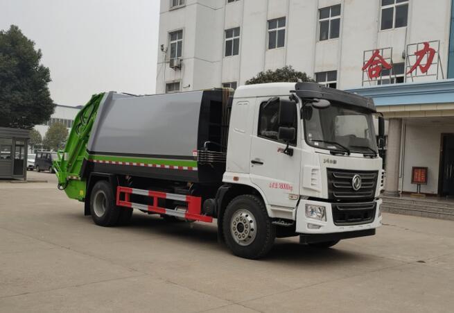 HLQ5181ZYSE6壓縮式垃圾車