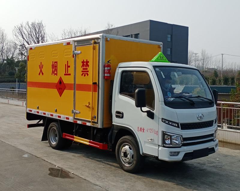 易燃氣體氣瓶鋼瓶廂式運輸車