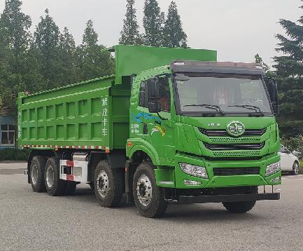 解放牌自卸式垃圾车垃圾车节能环保压缩式垃圾车供应商图片