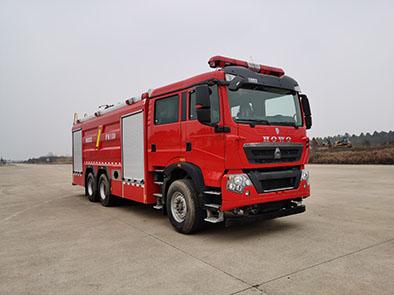 18吨重汽泡沫消防车