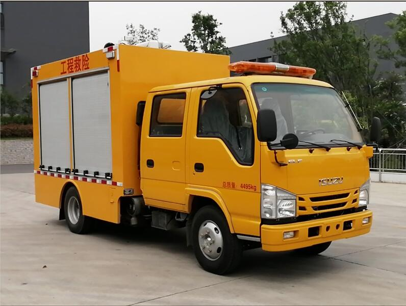 五十铃双排救险车