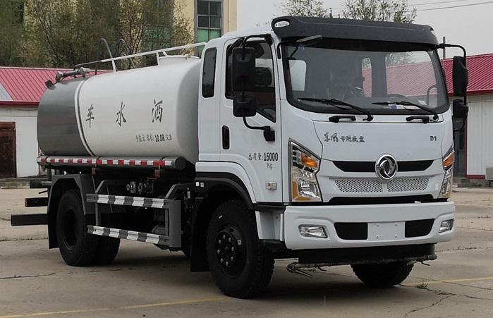 泓腾牌东风国六11吨洒水车