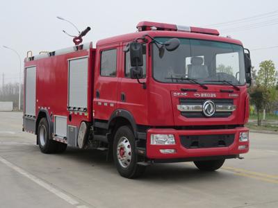 东风8吨泡沫消防车
