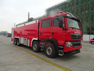重汽25吨泡沫消防车